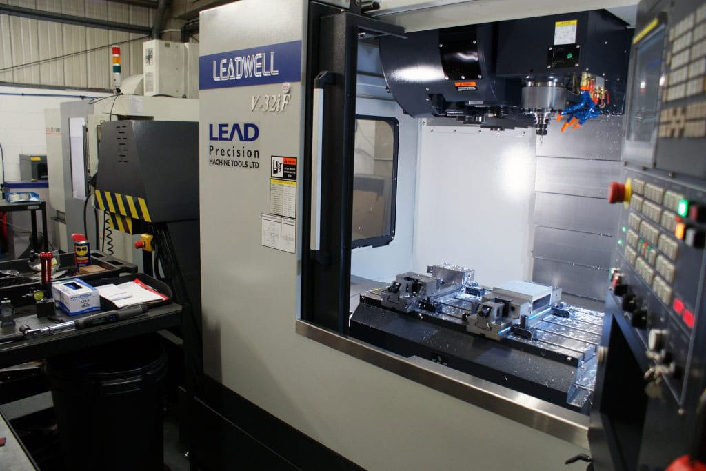 Our vertical CNC machining centres