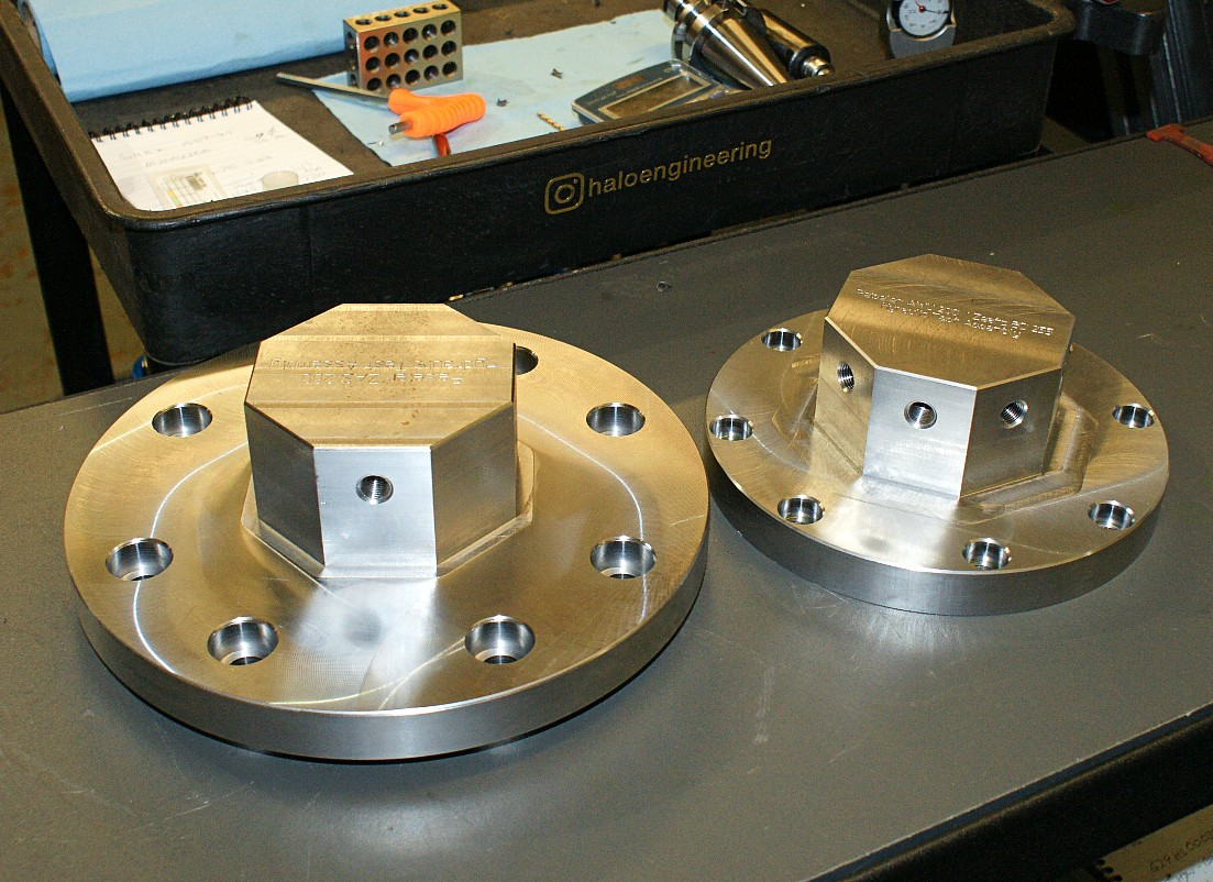 Steel Hydraulic Flanges