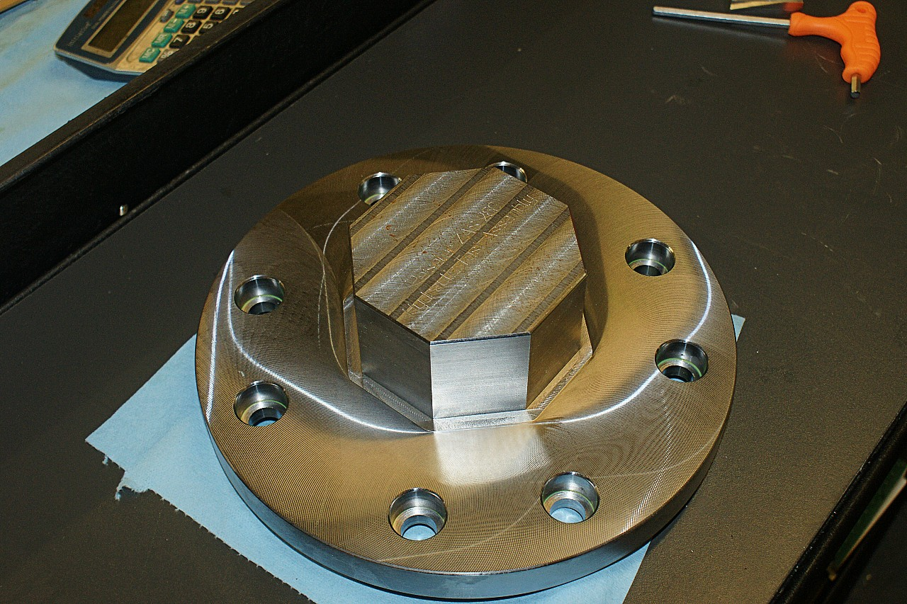 Hydraulic Flange Manufacturing Stage 9